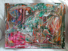 ~~Rainy Day~~Canvas - Acryl - Abstract 60 x 80 cm 32- 24 inch WoodFrame