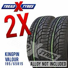 2x 195/65r15 Kingpin Tyres Fitting Available Two 195 65 15 Tyres x2