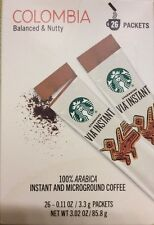 STARBUCKS VIA Instant Medium Roast Coffee 26 Packets  +FREE SHIPPING to U.S.A.