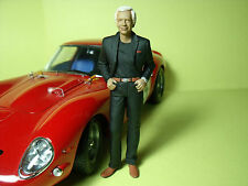 FIGURINE  1/18  RALPH  LAUREN   VROOM  A  PEINDRE  UNPAINTED  KIT   FIGURE
