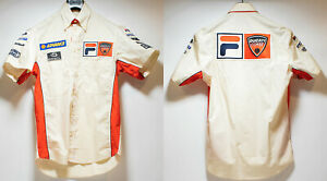 Fila Ducati Corse Team Shirt World Superbike WSBK 2003 2004 Xaus Hodgson NEW