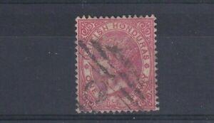 BRITISH HONDURAS 1884 1d Rose SG 18 USED
