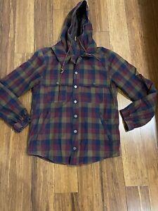 Men's HOLDEN Outerwear snowboard Checkered jacket sz M snow Rrp $900