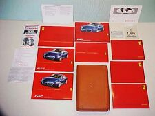 Ferrari 612 Leather Pouch_Owners Manual_Warranty Card_Scaglietti HI-FI System OE