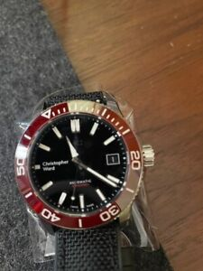 Christopher ward Trident Pro C60 600 Red and Black 38mm