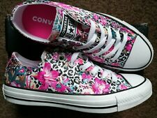 New Converse All Star Ox Floral Leopard Print Trend Trainers UK 5 EU 38 RRP £60