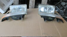 2003 FORD F350 SUPER DUTY RT & LF HEADLAMPS WITH PARK LAMPS fire damage in rear