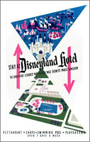 Disneyland Hotel Poster Disney - Buy Any 2 Get 1 Free