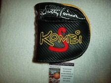 Scotty Cameron Hand Signed New Titleist Kombi Putter Cover JSA #J72353 Autograph