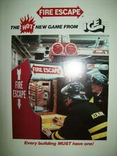 FIRE ESCAPE by ICE Arcade Game Flyer