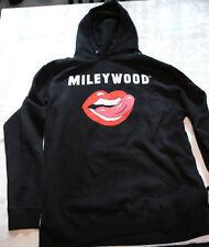 Miley Cyrus 2014 Bangerz Tour Exclusive Mileywood Hooded Sweatshirt Large