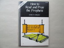 HOW TO READ AND PRAY THE PROPHETS by Marilyn Norquist 1980 pb CATHOLIC