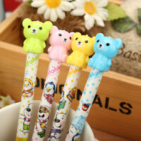 Rilakkuma Bear Mechanical Pencil 0.5mm Stationery Pen School Supplies Cute Gift.