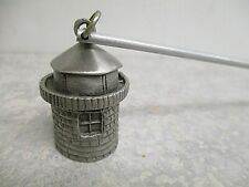 Pewter Candle Snuffer Lighthouse