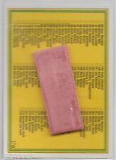 1992 NSW RL REGINA (176) CHECK LIST - Chewy & Wrapper