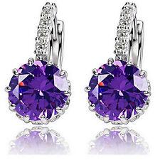 Women's Rhinestone Crystal Ear Stud Drop Dangle Earrings Party Fashion Jewelry