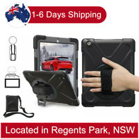 Heavy Duty Shockproof Case for iPad 2 3 4 Pro 9.7'' 10.5 Mini 4 3 2 1 with Stand