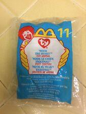 Ty Teenie Beanie Baby NOOK The HUSKY Dog  11 McDonalds Happy Meal 1999 5a177ac7e73c