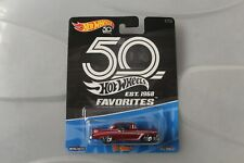 hot wheels 56 chevy 50th anniversary rare hard to find with real riders.