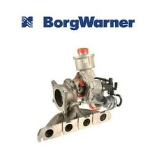Audi A4 Turbocharger with Exhaust Manifold OEM BORG WARNER 06D 145 701J
