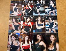SET OF 12 4X6 PHOTOS OF ASIANS IMPORT CAR MODEL KAI LANSANGAN AKA XENA KAI Z-1