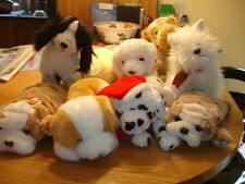 TY  BEANIE BUDDIES   ANIMALS MOSTLY DOGS PLUS HOOFER AND KNUCKLES