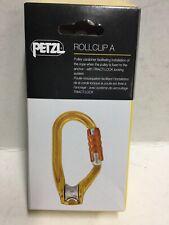 Petzl Rollclip A Moschettone Con Carrucola Triact-Lock