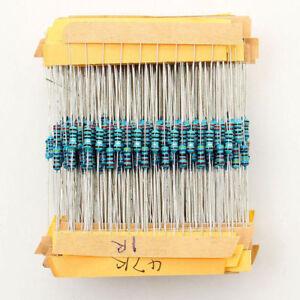 2600Pcs//set1Ω~3MΩ 1//2 Watt Metal Film Resistors Assortment Electronic Kits Box