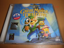 DISNEY the GREAT MOUSE DETECTIVE vcd VIDEO CD rare malaysia