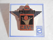 NBA Cleveland Cavaliers Basketball RARE 1994 PETER DAVID ENAMELED LAPEL PIN New!