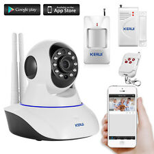 WIFI Wireless IP Camera Alarm Video Camaras de seguridad Safety Security System