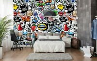 3D Animal Graffiti Art 906 Wallpaper Mural Paper Wall Print Murals UK Lemon