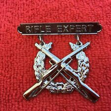Usmc Expert Rifle Badge Regulation Size