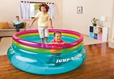 New Intex Inflatable Jump-O-Lene Jumping Bouncer Trampoline Kids Jumpolene 48267