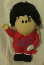 1 PELUCHE PLUSH DOLL KING OF POP-MICHAEL JACKSON THRILLER DRESS MOSSA MOVE DANCE