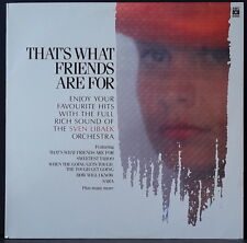 THE SVEN LIBAEK ORCHESTRA  - THAT'S WHAT FRIENDS ARE FOR ABC PROMO '86 OZ PRESS