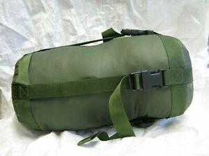 British Army Jungle Sleeping Bag Compression Stuff Sack Green Military Surplus