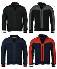 Tommy Hilfiger Mens Full Zip Mock Neck Fleece Yacht Jacket