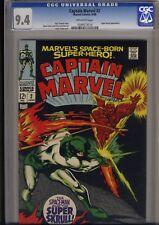 Captain Marvel #2  CGC NM 9.4  Gene Colan's  KREE Universe vs. the Super SKRULL
