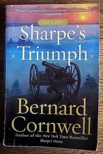 BERNARD CORNWELL trade pb SHARPE'S TRIUMPH Bk 2 Battle Of Assaye