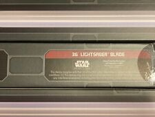 "36"" Lightsaber Blade Star Wars: Galaxy's Edge Legacy Hilt Disney"