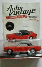 VOITURE MINIATURE 1/24 FORD MUSTANG COLLECTION AUTO VINTAGE NEUF