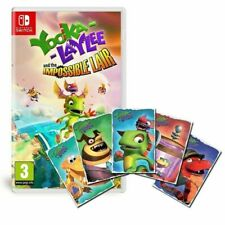 Yooka-Laylee and The Impossible Lair - Nintendo Switch + Art Cards - BRAND NEW