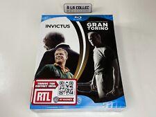 Coffret - Invictus + Gran Torino - Films Blu-Ray (FR, EN) - NEUF