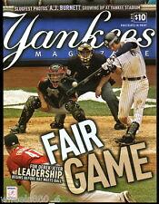 Yankees Magazine July 2010 v.31-5 Derek Jeter Posada Rivera Pettitte Cano Park