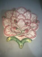 Strawberry Candy Bowl Dish Neuwirth Pottery Portugal Handpainted