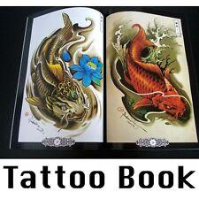 China Tattoo Vorlagen Book Buch Tätowierungen DIN A4 Auf 68 Seiten Neu ZGY3