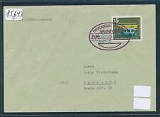 85643) Überlandpost M.-Kempten, BPA München BP ZUG hs.800-2,Brf-DS 12.3.66 R!