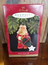 Hallmark Keepsake Magic Christmas Ornament Santas Secret Gift Plays Music
