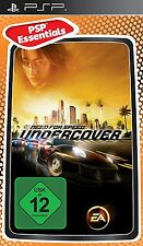 Need For Speed Undercover PSP New & Sealed Essentials